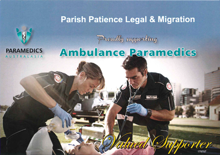 SEBP and Ambulance Paramedics supporters2